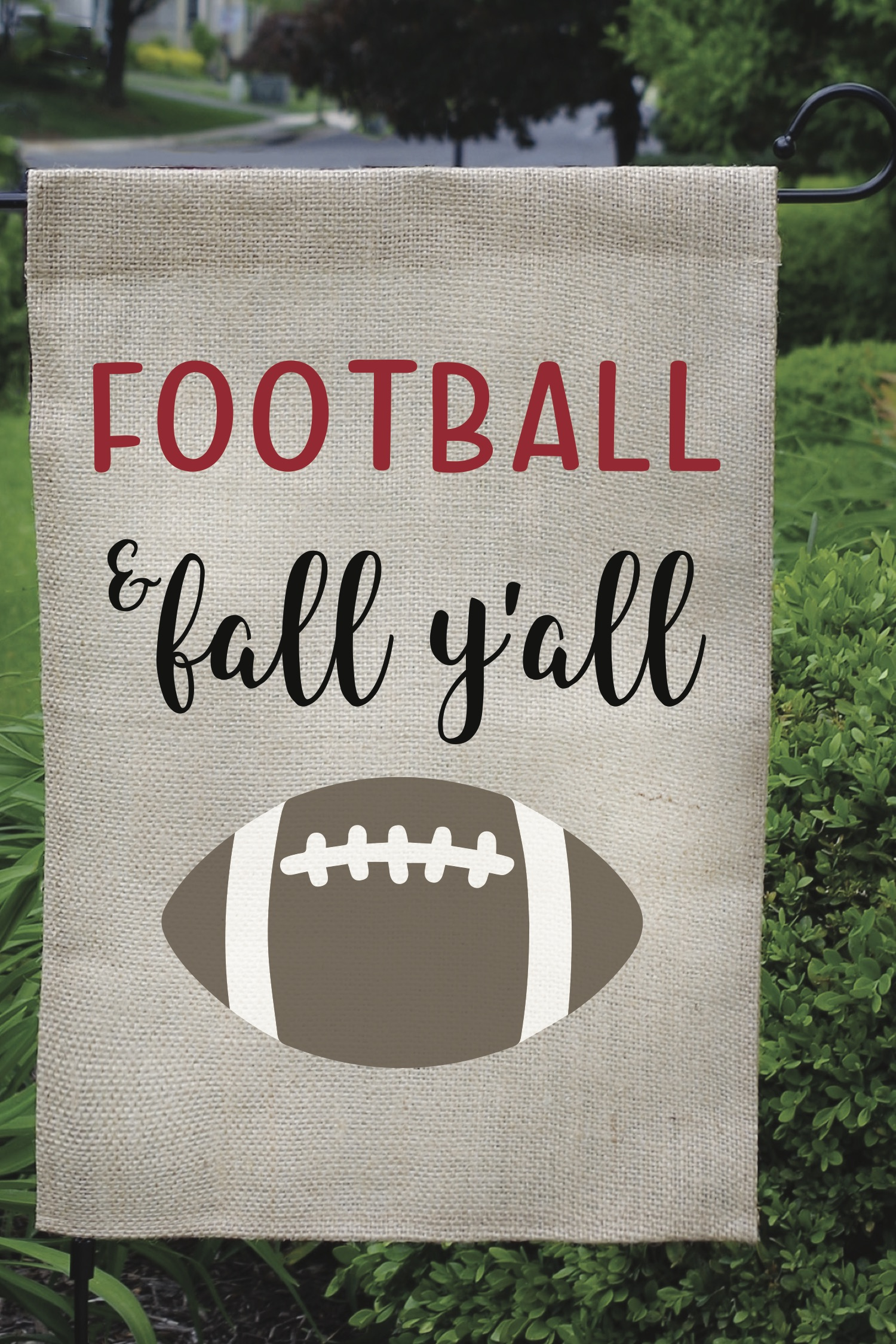 Football Yard Flag