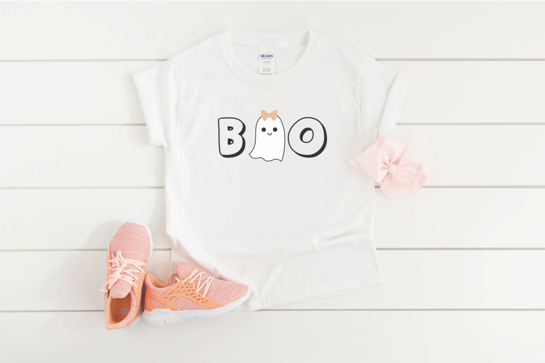 Girl Ghost Halloween Shirt