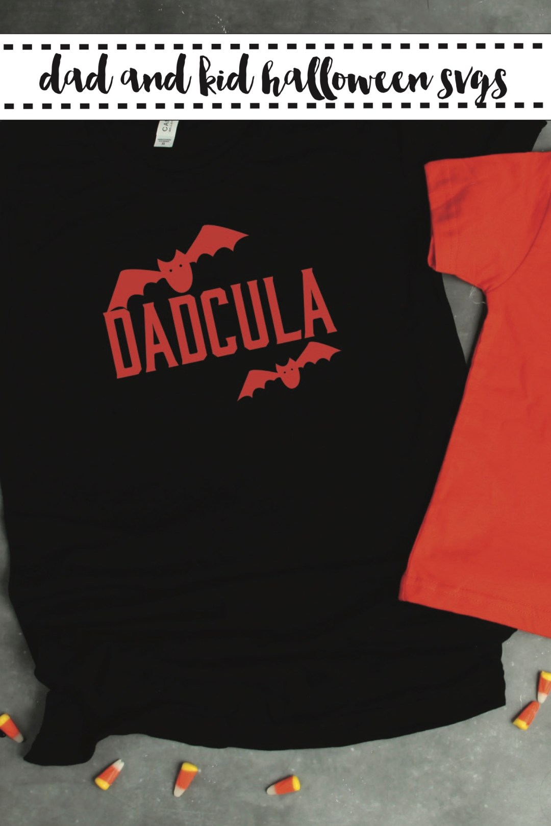 Father and Child Halloween Shirts