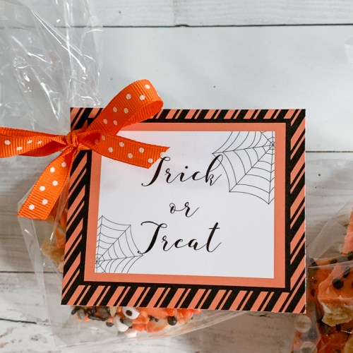 Halloween Tags and Treats