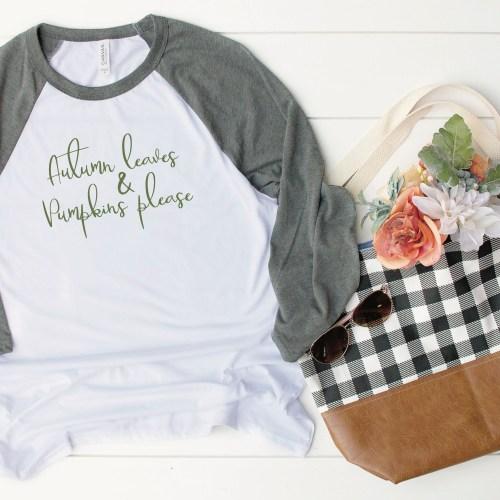Fall Raglan Shirt