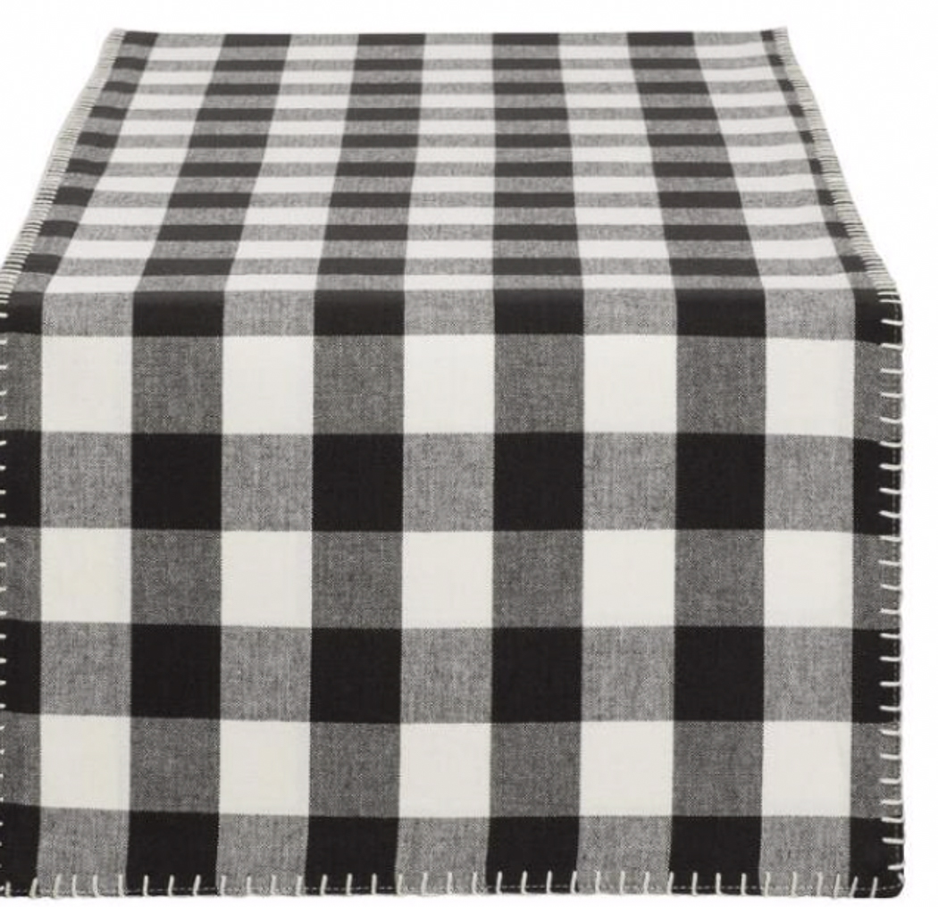 Buffalo Checked Table Runner