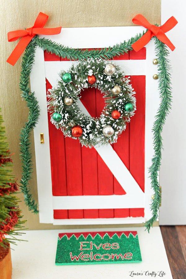Elf on the Shelf Door