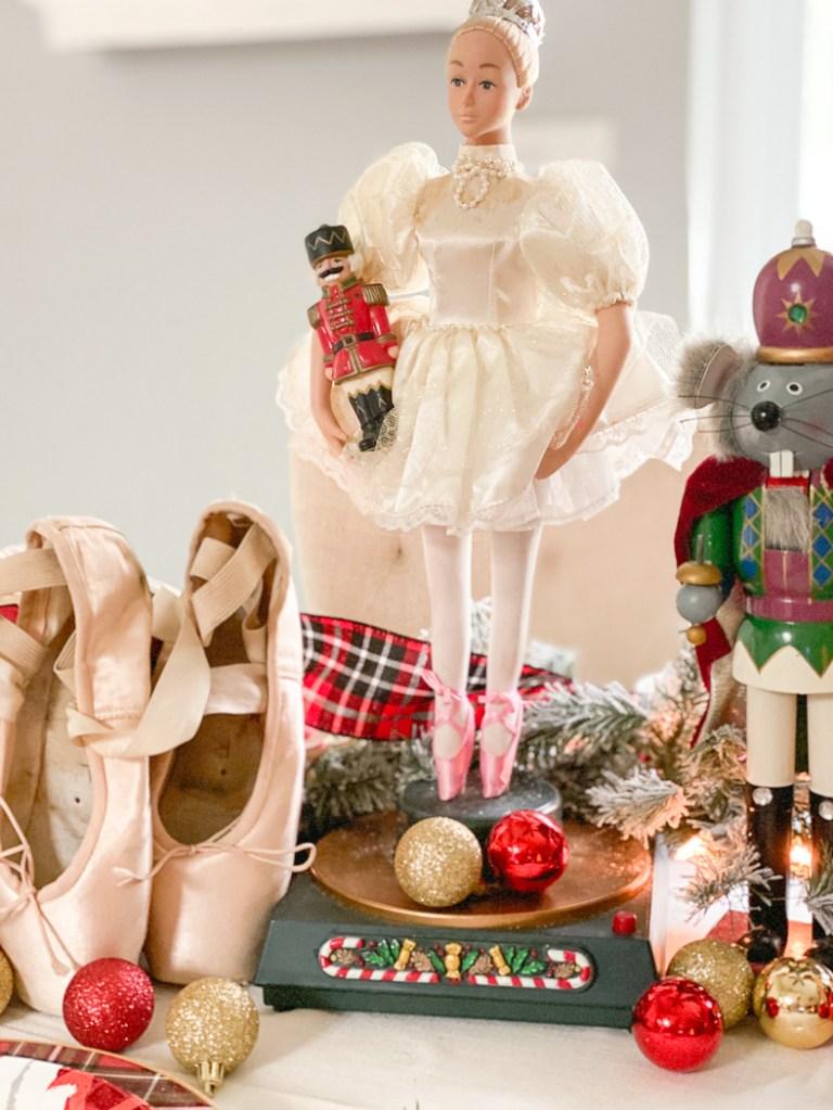Clara Nutcracker Ballet Pointe Shoes
