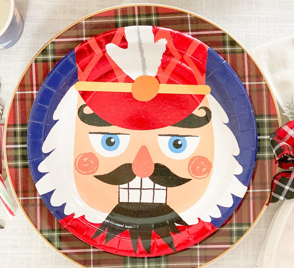 Nutcracker Holiday Plate