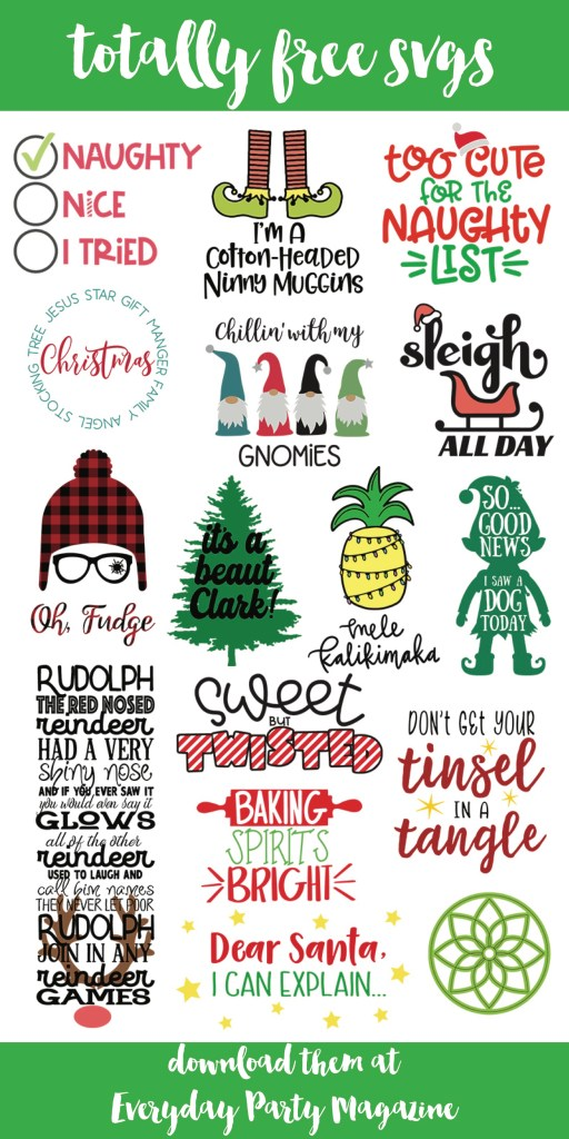 Christmas SVG Files