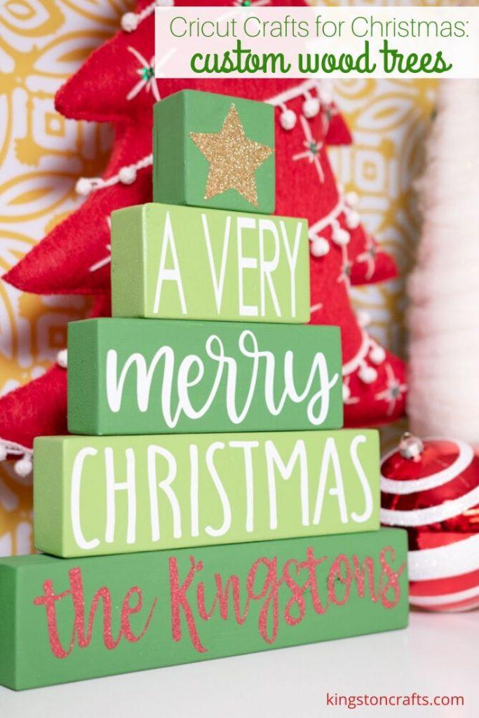 Kingston Crafts Wood Christmas Tree