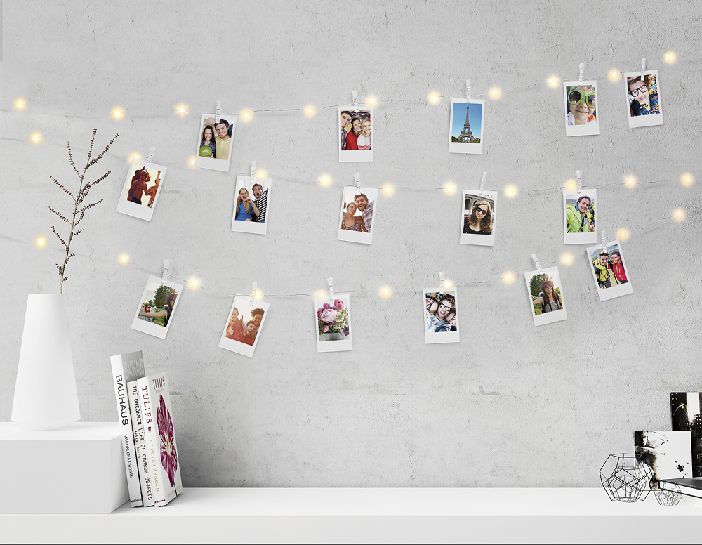 Photo String Clips