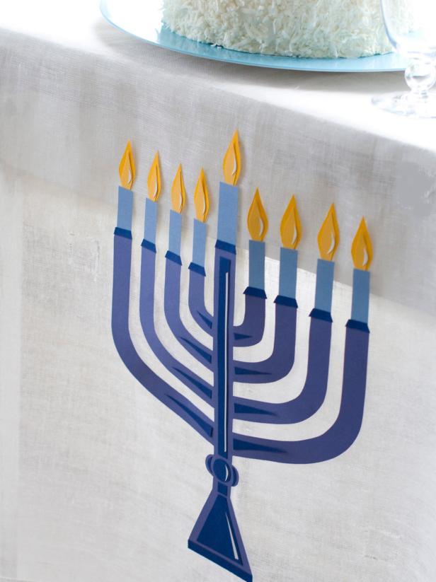 Hanukkah Table Cloth