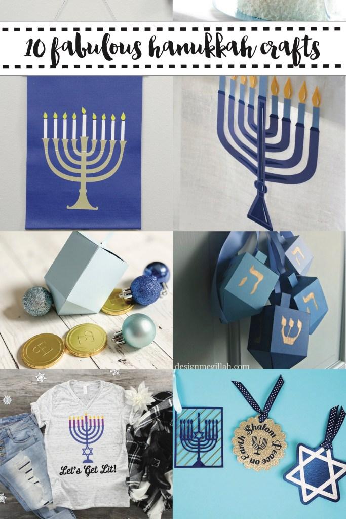 10 Hanukkah Crafts and Ideas