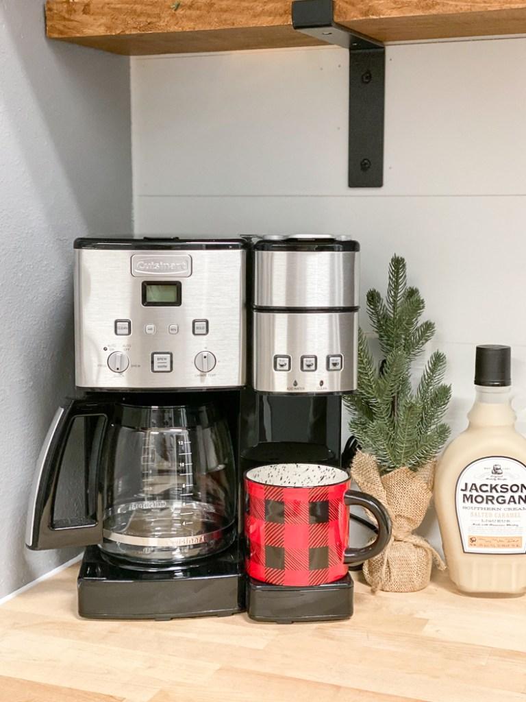 Coffee Maker Jackson Morgan Southern Cream