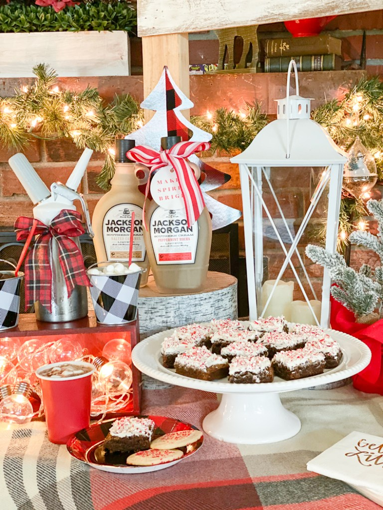 Winter Party Dessert Table