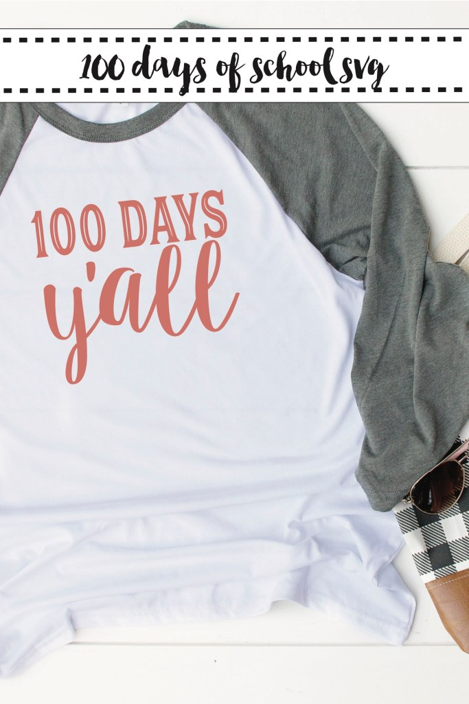100 Days of School Shirt Idea