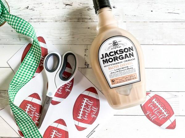 Jackson Morgan Southern Cream Football Gift