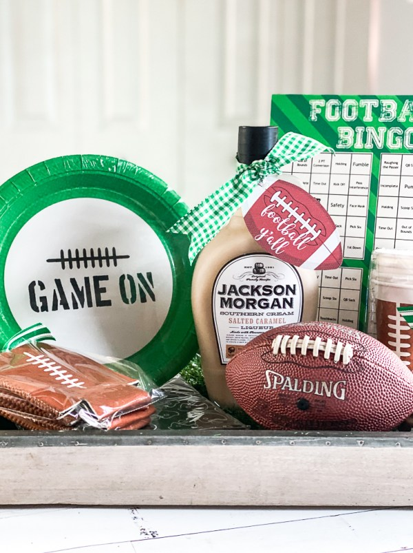 Football Party Hostess Gift