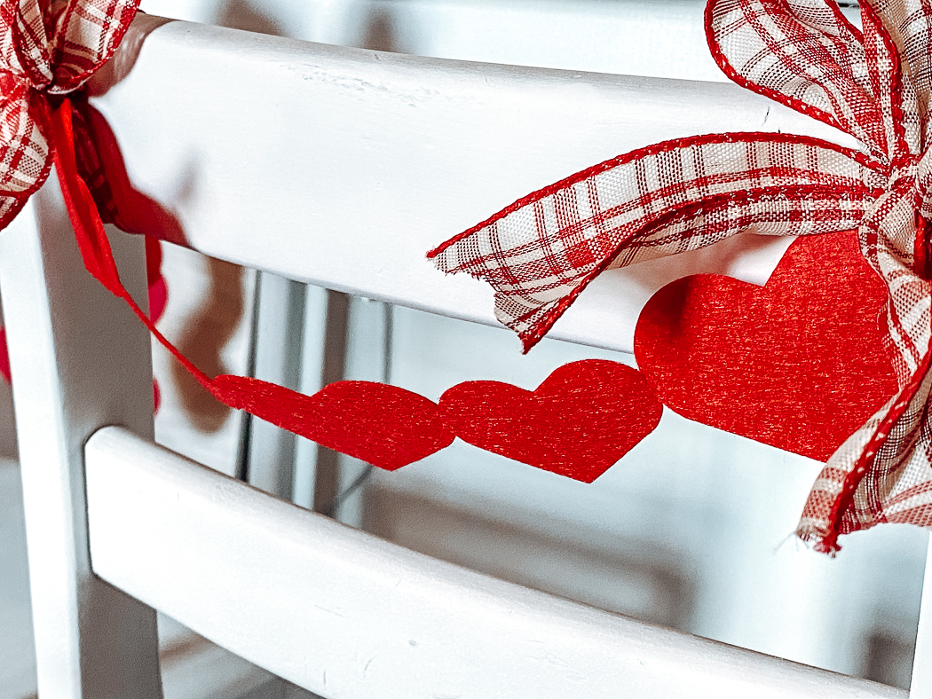 Valentine's Day Chair Decorations
