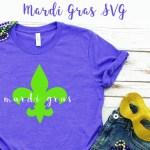 DIY Mardi Gras Shirt