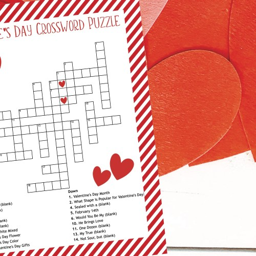 Valentine's Day Activity Sheet