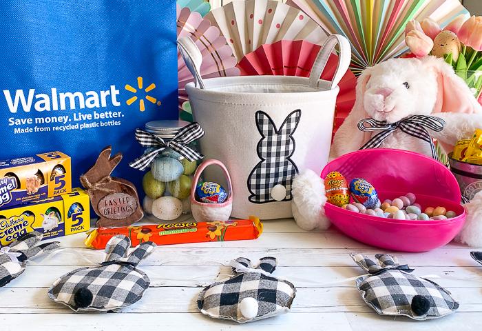 Gingham Easter Basket REESE'S Eggs