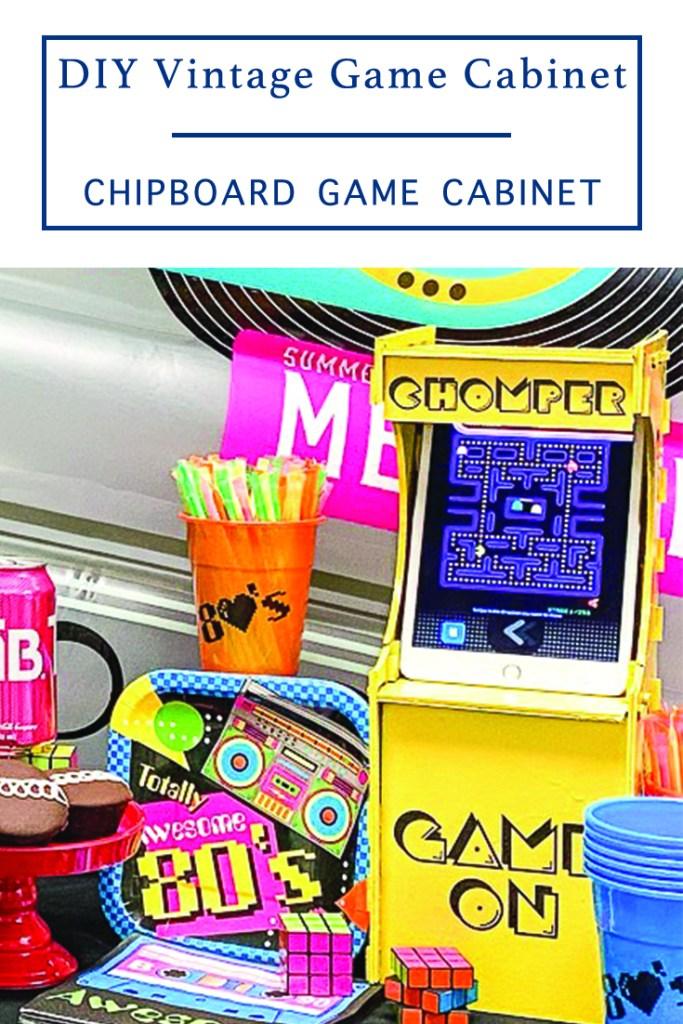 DIY Game Cabinet