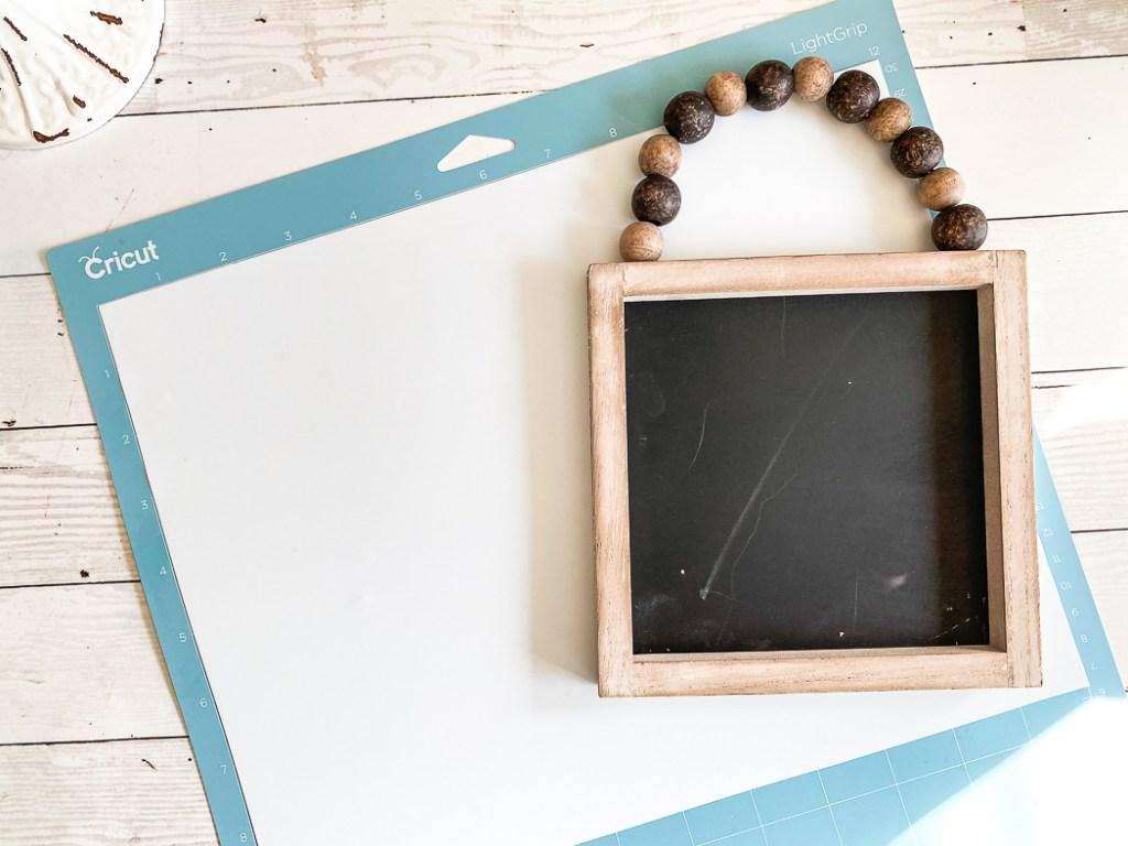 Mini Chalkboard Cricut Vinyl