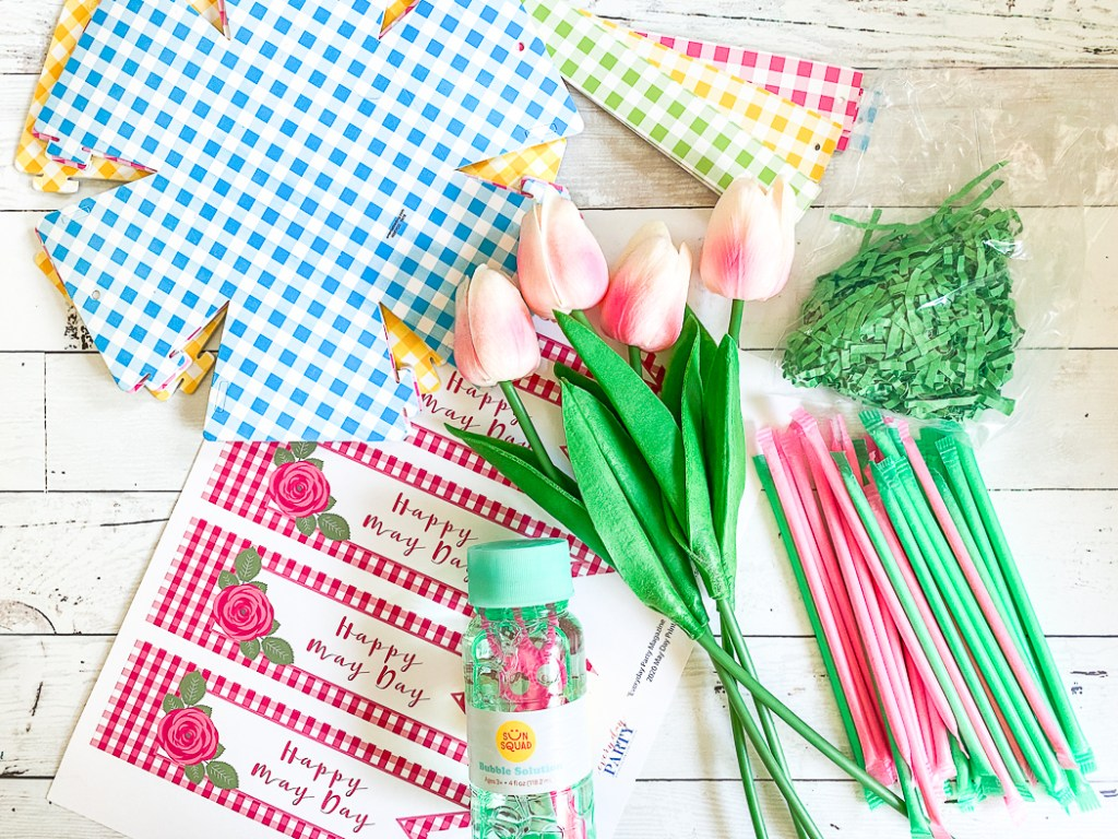 May Day Basket Supplies