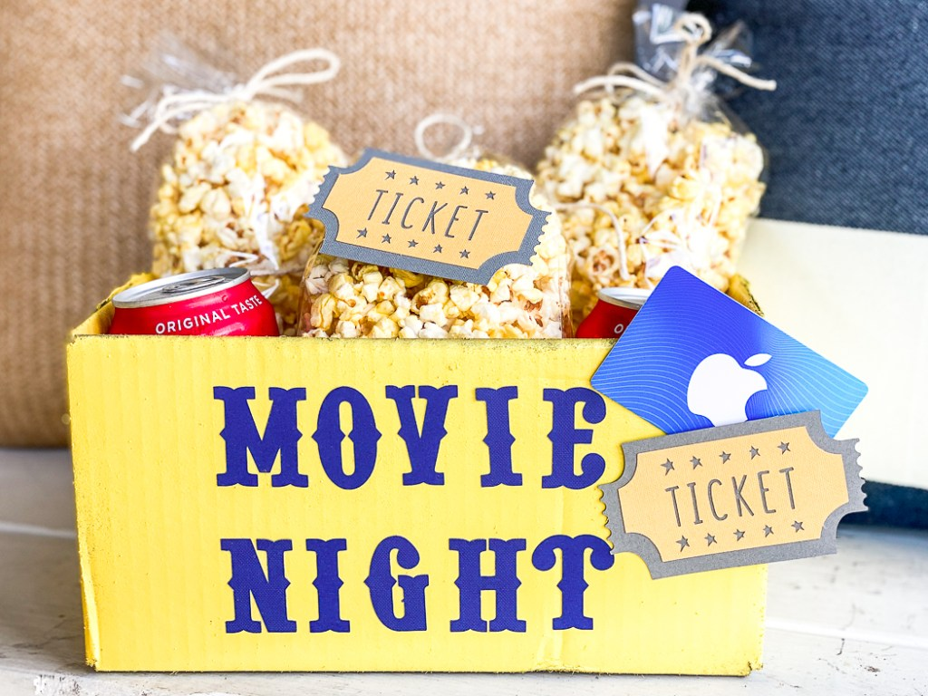 DIY Movie Night Box