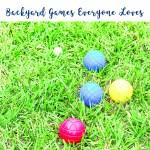 Backyard Bocce ball