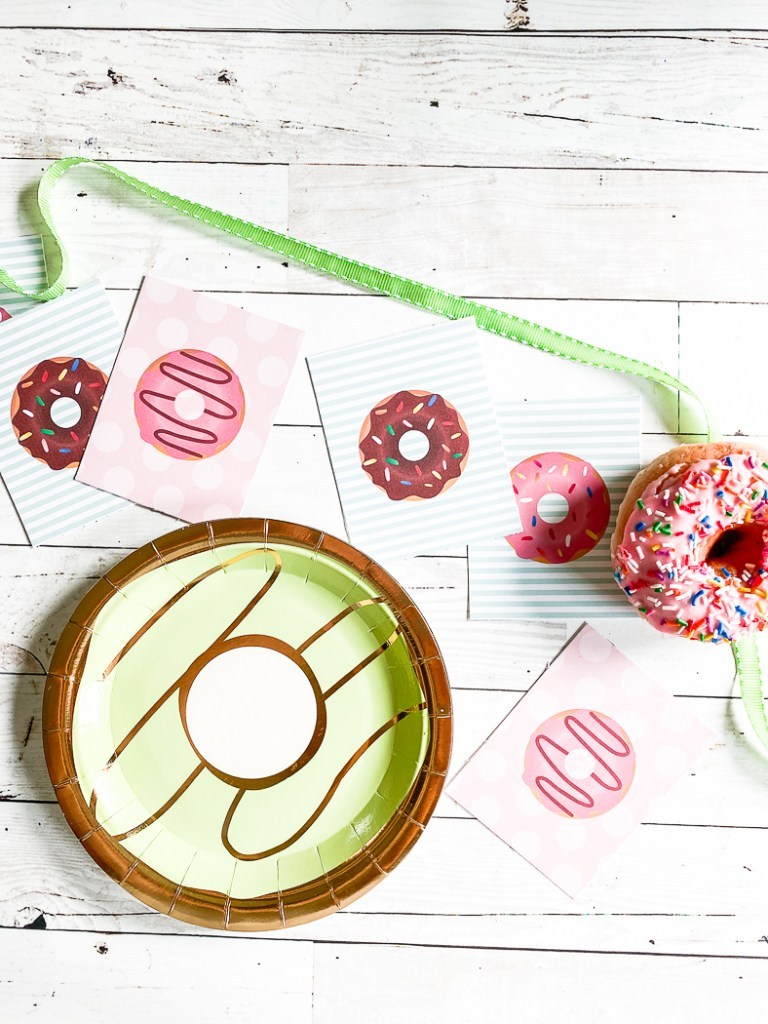 Donut Plate Donut Party