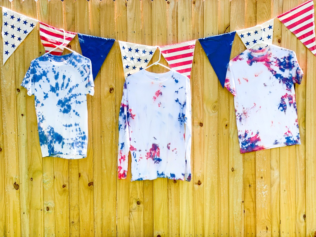 red white and blue tie dye diy everyday party magazine red white and blue tie dye diy