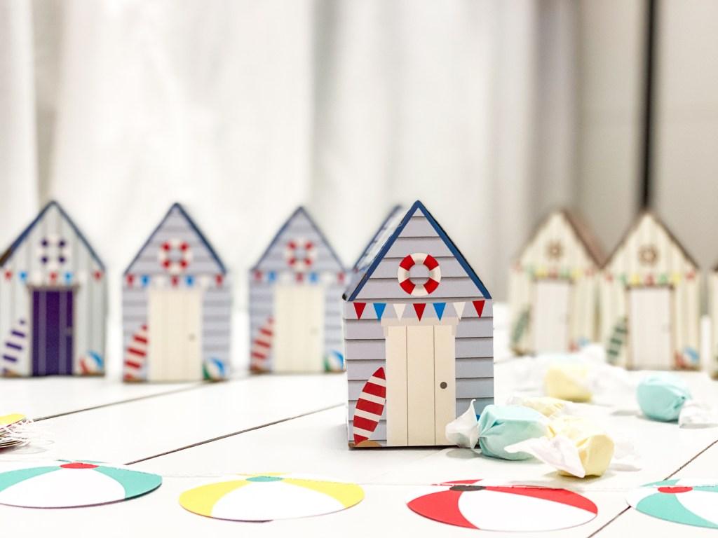 Beach Cottage Favor Boxes