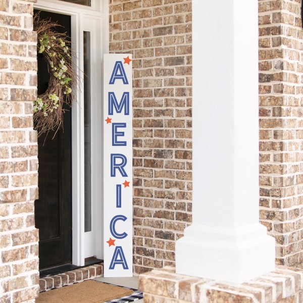 4th of July Porch Sign