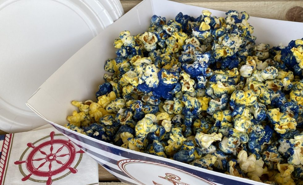 Nautical Candied Popcorn