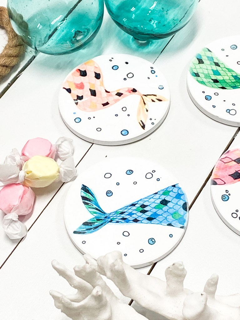Mermaid Coasters