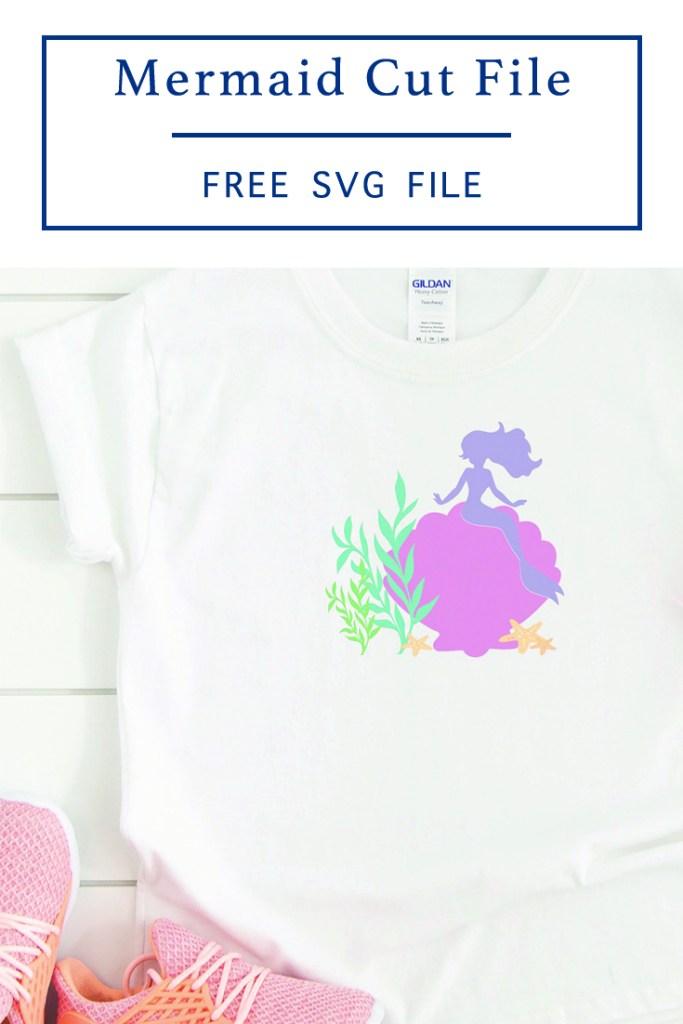 DIY Mermaid Shirt