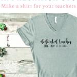 Teacher Shirt Idea