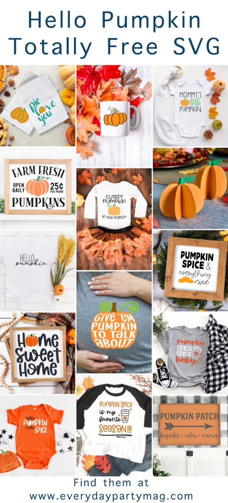 Pumpkin SVG Collage
