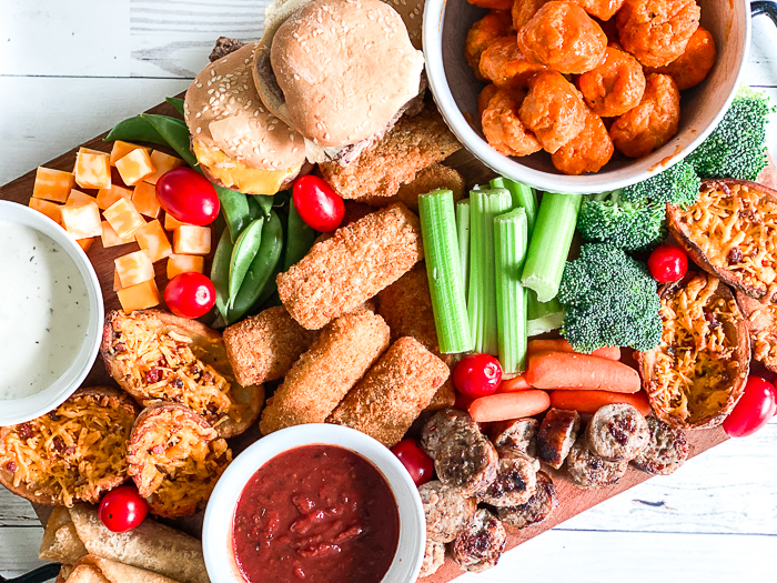 Meat and Veggie Tray