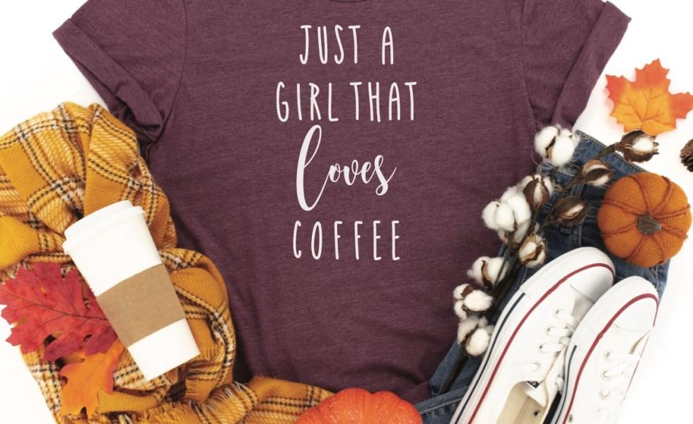 Coffee Fall Shirt