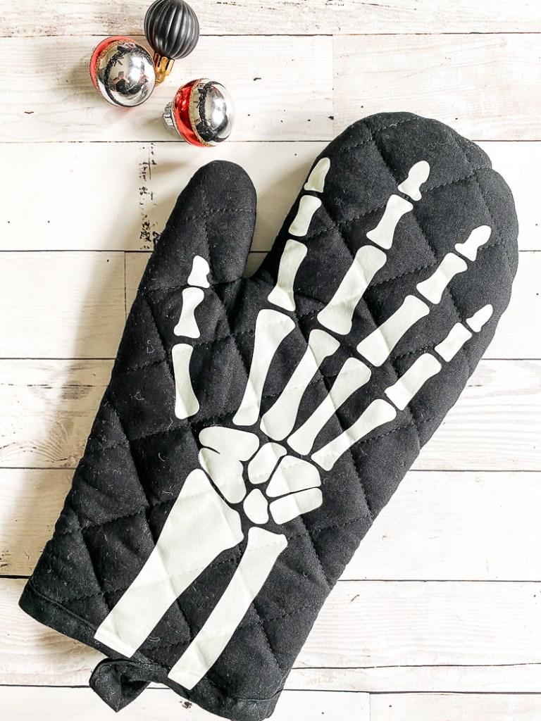 Skeleton Hand Oven Mitt