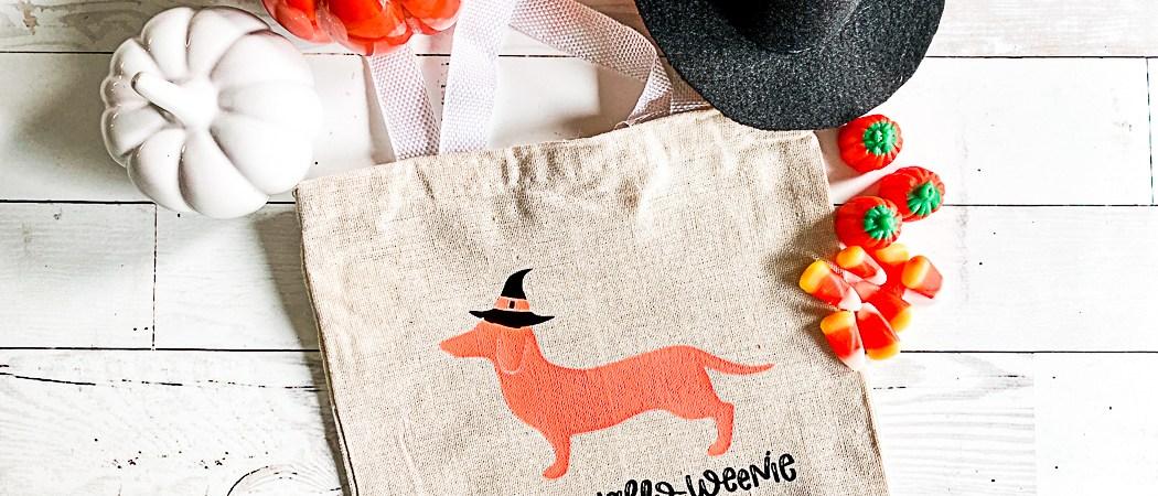 Hallo-Weenie Treat Bag