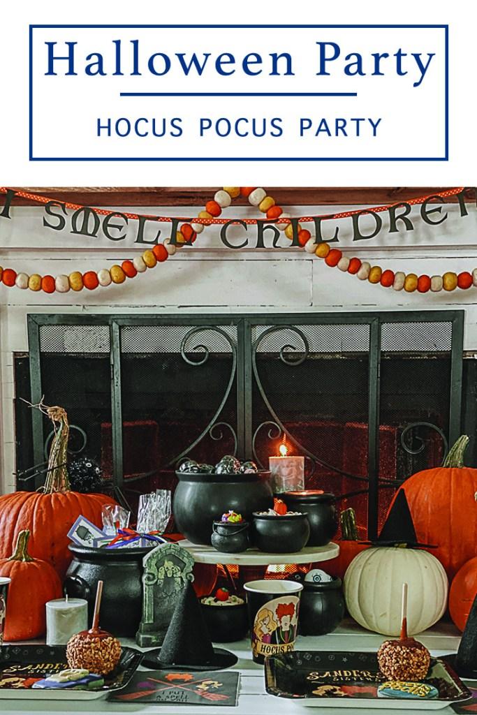 Hocus Pocus Halloween Party Table