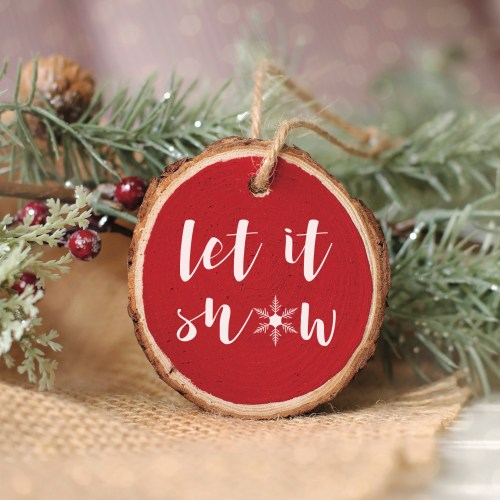 Farmhouse Holiday Ornament