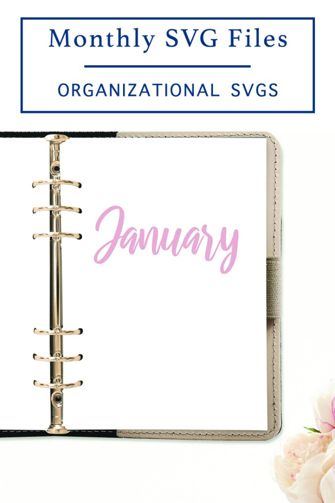 DIY Monthly Planner