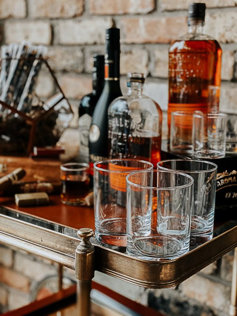 Bourbon Scotch Cognac Cigars