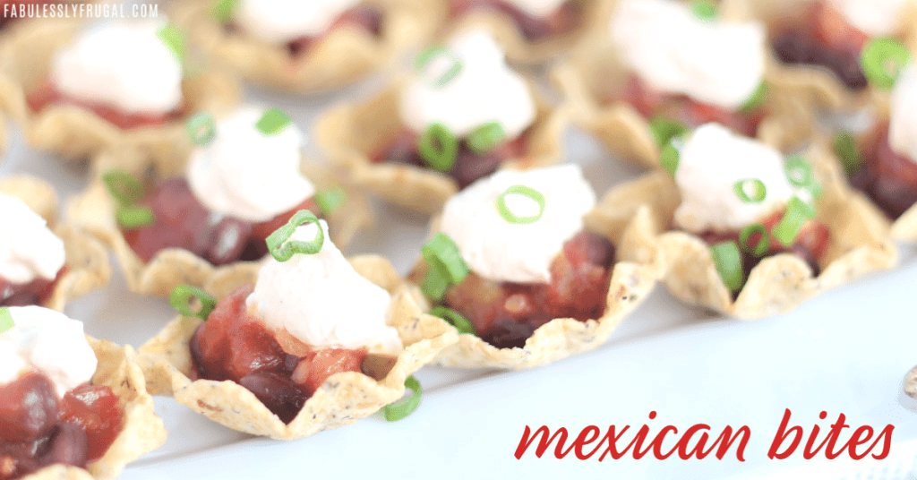 Tortilla Chips with salsa and sour cream
