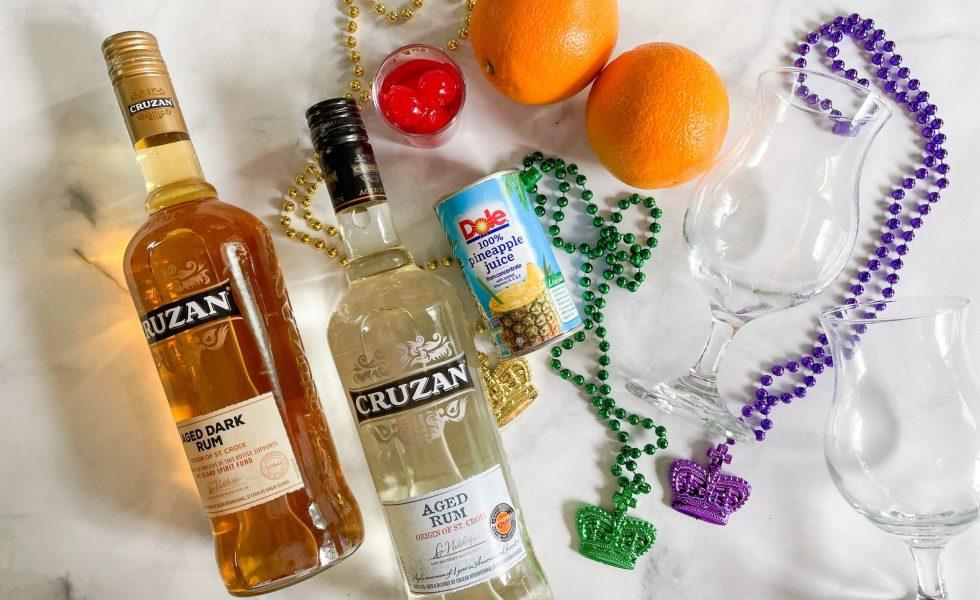 Hurricane Cocktail Ingredients