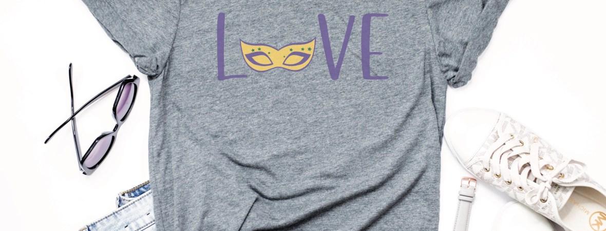 Mardi Gras Shirt Idea