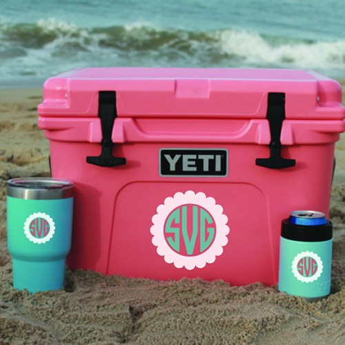 Monogrammed Yeti Coolers