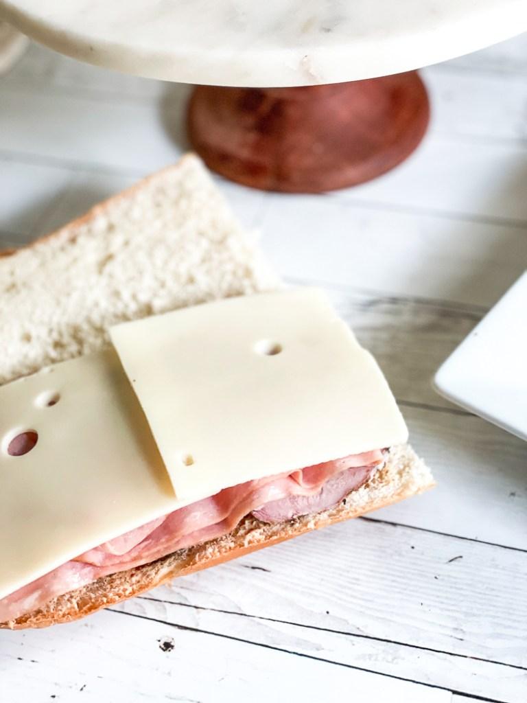 Cold Cuban sandwich